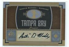 2012 SP Signature Edition Austin Maddox AUTO AUTOGRAPH RC RAYS
