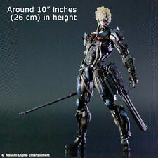 Play Arts Kai Metal Gear Solid Rising Revengeance Raiden PVC Figure Statue Model