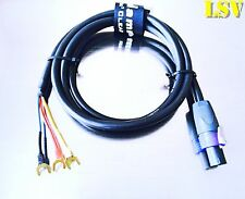 NEW Van Damme  Hi-Level Subwoofer Audio Cable for REL & BK- 4 Meters