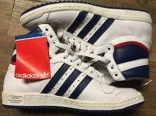 Original 1979 Adidas Top Ten Hi-Top Shoes - RARE - Still Have Tags!!! Last Pair!