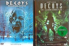 Decoys 1 & Decoys 2 The Second Seduction Sexy Aliens Corey Sevier 2 NEW DVDs