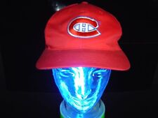 VINTAGE STARTER NHL MONTREAL CANADIENS 1990s CAP WOLLE VTG.