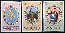 Vanuatu 1981 SG#315-7 Royal Wedding MNH Set #R441