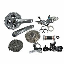 2015 SHIMANO Alivio M4000 Gray Groupset Group Set 9-speed 7pcs