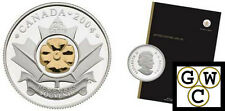2004 RCM Annual Report with Gold Plated Poppy 25ct issued in 2005 (11609)