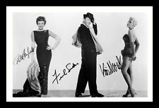 RITA HAYWORTH & FRANK SINATRA & KIM NOVAK SIGNED & FRAMED PP POSTER PHOTO
