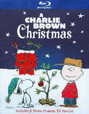 A Charlie Brown Christmas (Blu-ray Disc, 2009, 2-Disc Set, Deluxe Edition) NEW