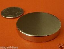 1 Piece of 1.5 x 1/4 Inch Strong Rare Earth Neodymium Disc Magnet Grade N42
