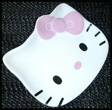LOVELY HELLO KITTY CERAMIC TEABAG HOLDER TIDY DISH ASHTRAY SAUCER CAT ASH TRAY