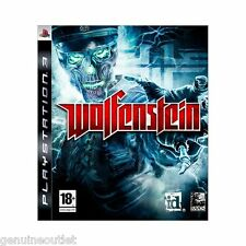 PS3 WOLFENSTEIN for PLAYSTATION 3 SEALED NEW