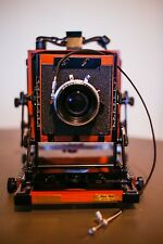 Shen Hao HZX-45 II A Large Format Field Film Camera Body and Copal 0 lens board