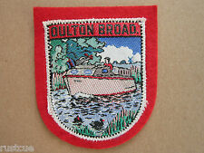 Oulton Broad Woven Cloth Patch Badge