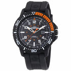 Timex T49940 Men's Expedition Black Resin Watch with Indiglo & Date