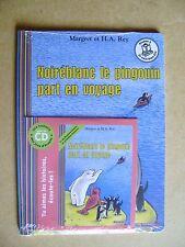 Livre Noiréblanc le pingouin part en voyage une histoire avec un CD /Y37