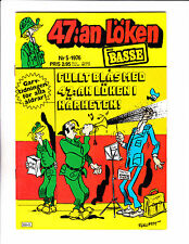 "47:an Loken No 5-1976 - Swedish Sad Sack  - ""Bugle Blast Cover!  """