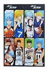 Kuroko no Basuke Anime 8pc Bookmark Set