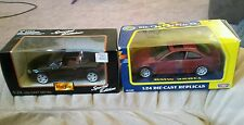 1/24 MOTORMAX BMW 328Ci and 1:24 MAISTO AUDI TT