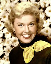 "DORIS DAY (3) HOLLYWOOD ACTRESS & MOVIE STAR 8x10"" HAND COLOR TINTED PHOTOGRAPH"