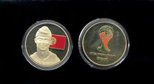 Cristiano Ronaldo Lionel Messi Collector Gold Plated Coin Set of 2
