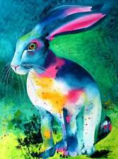 • ACEO / RABBIT / Limited Edition Print of Original Painting