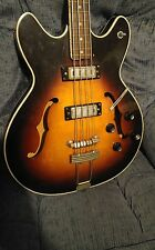 60s VINTAGE HAGSTROM HC-1 CONCORD (VIKING) HOLLOWBODY BASS GUITAR MADE IN SWEDEN