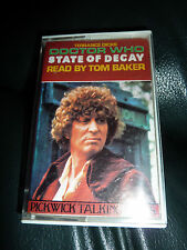 doctor who dr who tom baker state of decay audio cassette
