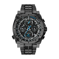Bulova Men's 98B229 Precisionist Chronograph Sweeping Second Hand Gunmetal Watch