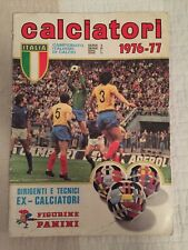 Panini Calciatori Italiano Di Calcio 1976 1977 76 77 100% Complete Sticker Album