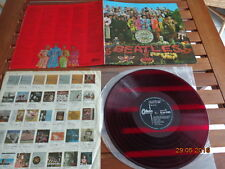 "THE BEATLES ""SGT. PEPPERS LONELY HEARTS CLUB BAND"" - LP JAPAN + INSERTS - OP8163"