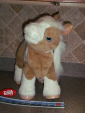 Hasbro Fur Real Friends Brown/white Interactive Baby Butterscotch Pony Horse