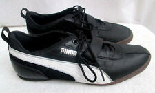 PUMA CAT..ATHLETIC..SNEAKERS..BLACK, WHITE & SILVER.. MEN SHOE'5..sz 9