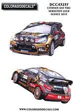 Colorado Decals 1/43 CITROEN DS3 WRC SEBASTIAN LOEB ALSACE 2013