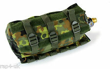 RAP4 German Flecktarn MOLLE Horizontal Paintball Air Tank Pouch [E8]