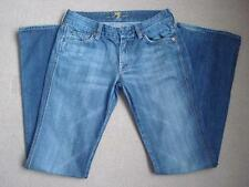 "SEVEN FOR ALL MANKIND A POCKET JEANS SIZE 27 32"" LEG"