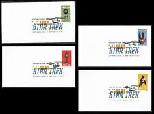 US Star Trek DCP (set of 4) FDC 2016