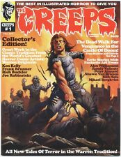 Creeps Magazine #1 (Fall 2014, Warrant Publishing) Creepy Eerie Horror VF/NM NEW