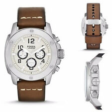 Fossil Men's FS4929 'Modern Machine' Chronograph Leather Watch