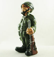 Soldier Figurine | Father's Gift | US Army Statue | Master Sargent | Cake Topper