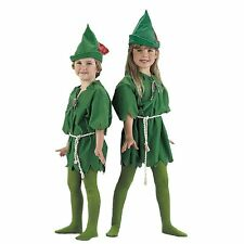Peter Pan Elf Robin Hood Unisex Kids Child Fancy Dress Up Party Outfit Costume