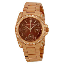 Michael Kors Mini Blair Multi-Function Rose Gold-plated Ladies Watch MK6092