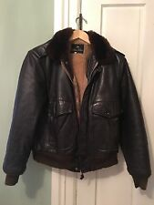 GOLDEN FLEECE  G1 FLIGHT BOMBER LEATHER JACKET MEN SZ 40 CLASSIC MUST HAVE