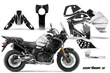 AMR Racing Graphic Wrap Kit Yamaha TENERE 1200 Motorcycle Deco Decal CARBON SILV
