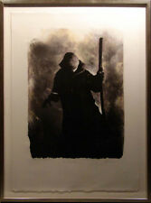 "Mackenzie Thorpe ""The Shepard"" etching Hand Signed w/custom frame Make an Offer!"