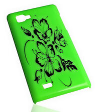 Design No.1 Hard Back Handy Cover Case Hülle für LG P880 Optimus 4X HD