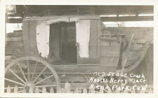 Buena Park CA * Knott's Berry Place * Stage Coach RPPC 1940s Wells Fargo Haunted