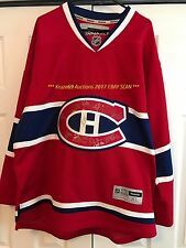 2016/17 MONTREAL CANADIENS JERSEY Home SIGNED by 17~PRICE~WEBER~RADULOV~JULIEN
