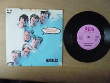 """Madness –  Tomorrow's (Just Another Day) / Madness ,  7"""" Single,  Vinyl: vg++"""