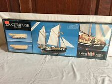 Billing Boat No. 802 LA Curieuse Sail Ship Laser cut Wood Model Kit