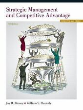 Strategic Management and Competitive Advantage: Concepts 5th Int'l Edition