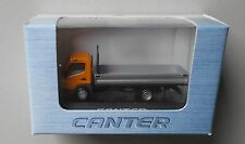 YELLOW MITSUBISHI FE STERLING 360 TRUCK CANTER MINIATURE 1/87 HO Scale